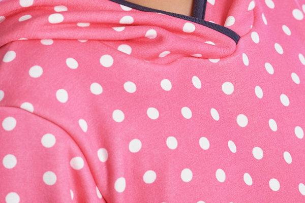 proud little cloud hoodie miss dottie detail