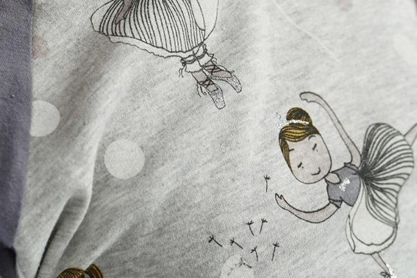 proud-little-proud little cloud hoodie prima ballerina detail