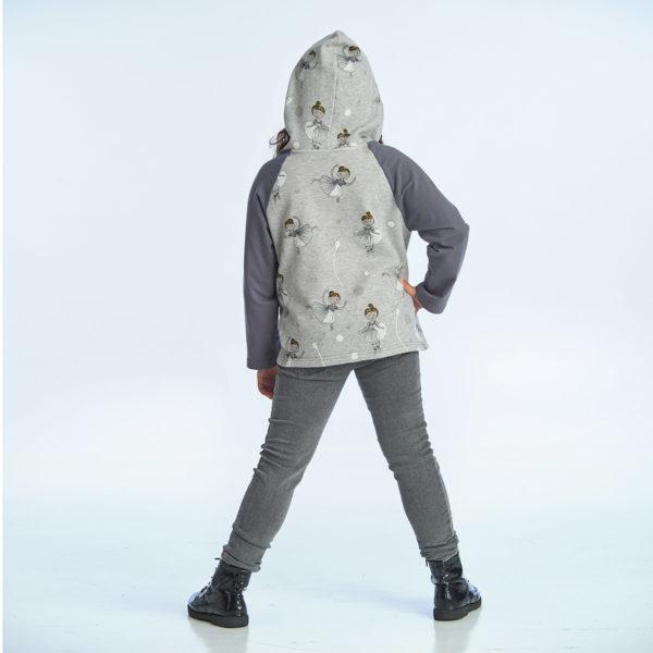 proud little cloud hoodie prima ballerina hinten