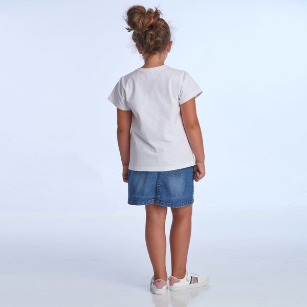 proud little cloud t-shirt weiss hinten